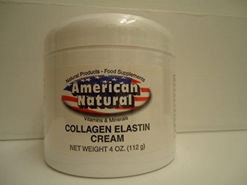 American Natural Collagen Elastin Cream 4 oz Skin Care Anti Aging