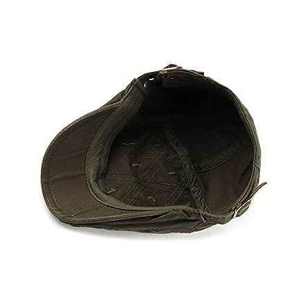 FDBQC B/érets Style Chapeau Bonnet Plaid Flatc Gavroche Casquettes Gavroche Hommes De Haute Qualit/é