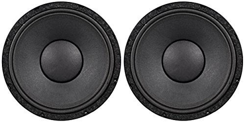 2) Peavey 1208-8 SPS BW RB SF Replacement Basket 12'' 8 ohm Black Widow Subwoofer by Peavey