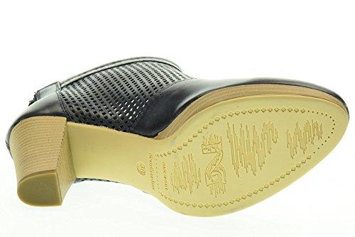 tacco NERO P717010D Blu alto tronchetti 200 con GIARDINI scarpe donna qxOw4rpXOB