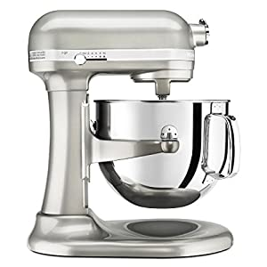 KitchenAid KSM7586PSR 7-Quart Pro Line Stand Mixer Sugar Pearl : best consumer mixer on the market