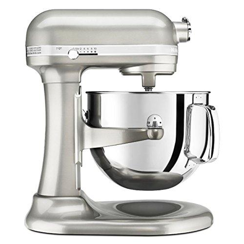 KitchenAid KSM7586PSR 7-Quart Pro Line Stand Mixer Sugar Pearl Silver For Sale