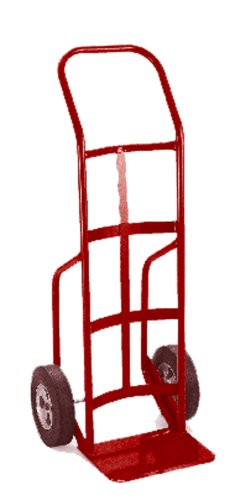 Lockwood-HTS-33007-Steel-Hand-Truck-with-Curved-Back-and-Kickback-Handle-Solid-Rubber-Wheels-700-lbs-Load-Capacity-50-Height-20-Length-x-18-Width