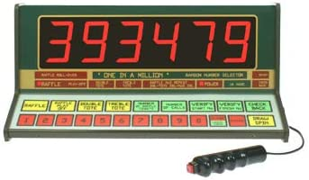 Super Star Electronic Bingo Machine UK Made 2 YR warranty 1-90 number selector