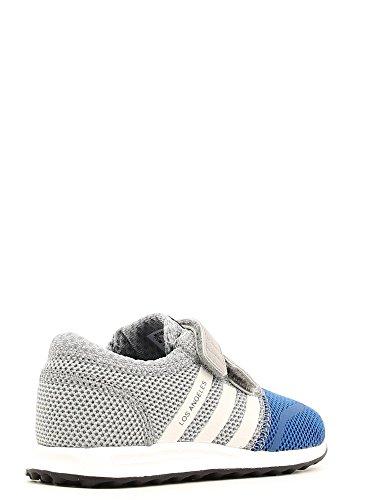 adidas Zapatillas de Lona Para Niño Gris Grigio Blu