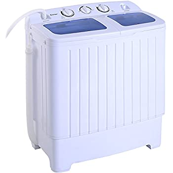 Good Giantex Portable Mini Compact Twin Tub 17.6lbs Washing Machine Washer Spin  Cycle