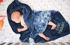 Tie Dye baby Blanket, Customized baby bl...