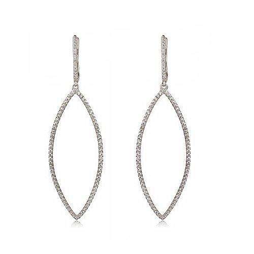 Ingenious Jewellery - Boucles d'oreilles - 925 - Oxyde de zirconium - CZEAR683/SIL