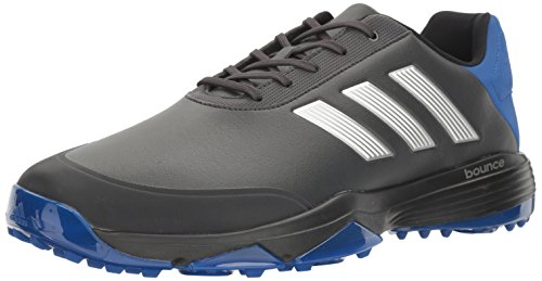 adidas Men's Adipower Bounce Carbon/SI Golf Shoe, Black, 13 M US