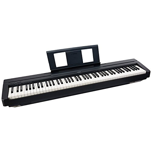 yamaha p45b 88 key portable digital piano pa150 power supply pedal bench stand buy online in. Black Bedroom Furniture Sets. Home Design Ideas