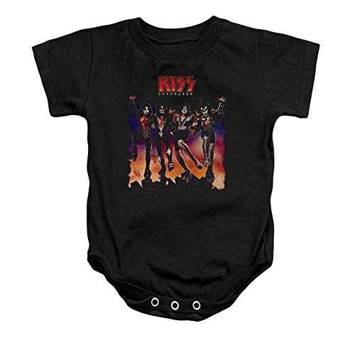 (Sons of Gotham Kiss Destroyer Cover Baby Onesie 18m)