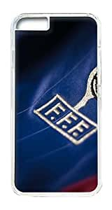 IPhone 6 Plus Case, IPhone 6 Plus Cases Hard Case France Football Shirt Crest World Cup 2014 Case For IPhone 6 Plus, IPhone 6 Plus PC Transparent Case