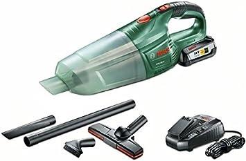 Bosch Aspirador a batería PAS 18 LI (1 batería, cargador, 3 boquillas, tubo de extensión, filtro, Sistema 18 V, 2,5 Ah): Amazon.es: Bricolaje y herramientas