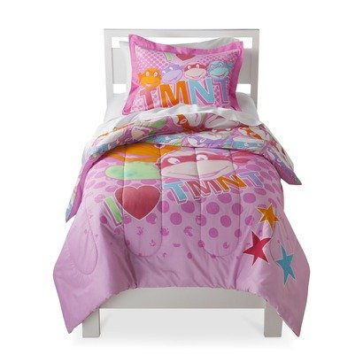 Teenage Mutant Ninja Turtles Girl Comforter and Sheet Set...