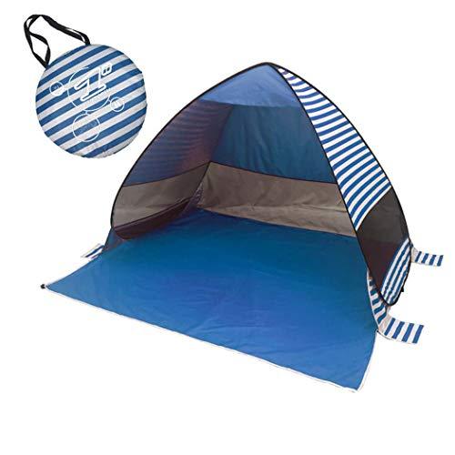 Pêche Sac amp;yg up Pop Avec Main Automatique À De Plage niquer Pliable Extérieure Camping Pique Darkblue Miss Randonnée Tente Pour Couverture Un4dqUO