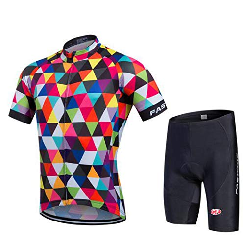 (Rzxkad Summer Cycling Jersey and Three Personalized Bike Suits)