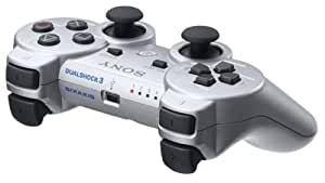 PlayStation 3 Dualshock 3 Wireless Controller (Japanese Version) - Silver