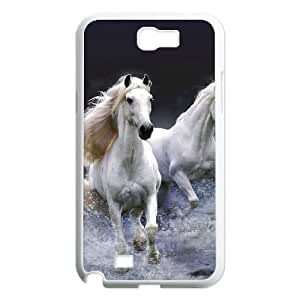 Custom New Cover Case for Samsung Galaxy Note 2 N7100, Galloping Horse Phone Case - HL-R669850