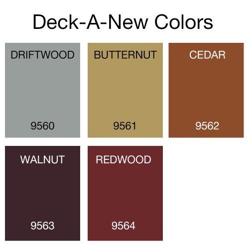 Anvil Deck-A-New Rejuvenates Wood & Concrete Decks Premium