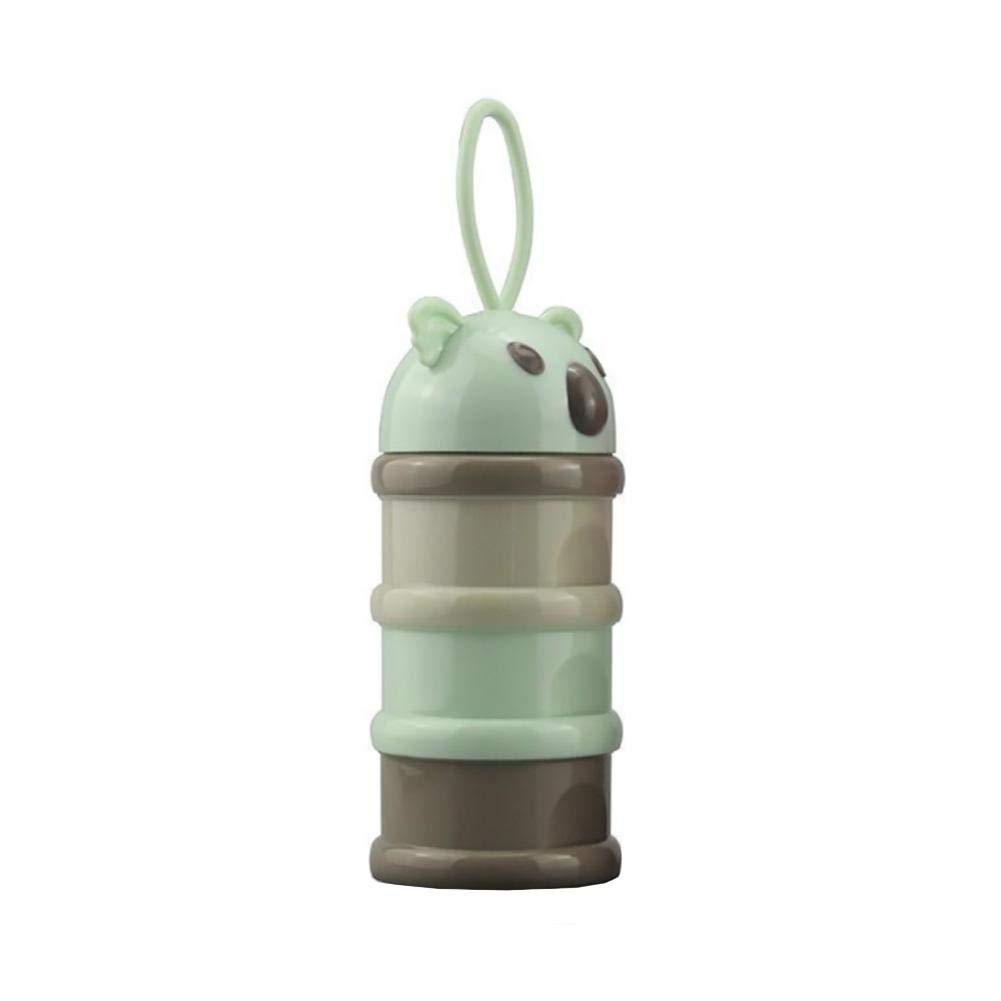 Aufbewahrungsbox F/ür Milchpulver Mit Gro/ßer Kapazit/ät Dreischichten Cartoon Form Tragbar Austauschbar Milchpulver-Box advancethy Milchpulver-Box