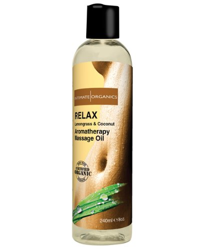 Huile massage relaxant - 8 Oz Coconut & Citronnelle
