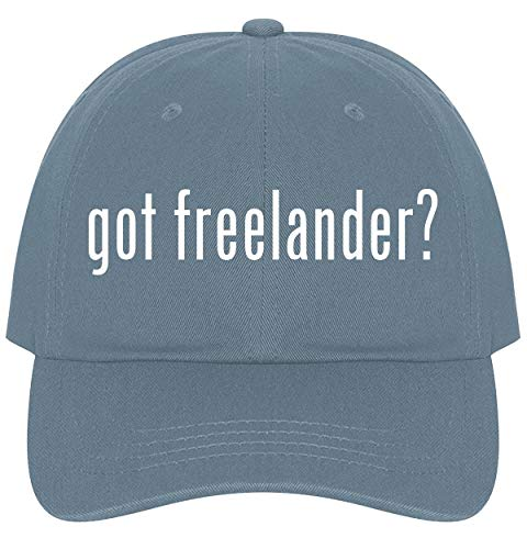 The Town Butler got Freelander? - A Nice Comfortable Adjustable Dad Hat Cap, Light Blue