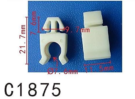 Clip de sujeción de la varilla de la capucha (modelo PF-C1875) (