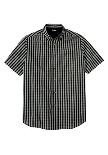 Kingsize Short Sleeve Check Shirt