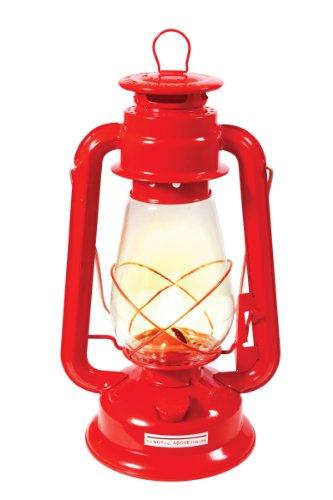 Red Outdoor Camping Lamp Kerosene Lantern 7″, Outdoor Stuffs