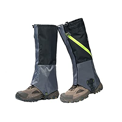 Carryon Waterproof Snow Hiking Climbing Highly Breathable High Leg Gaiters