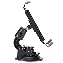 Heavy Duty Premium Car Mount Dash Windshield Tablet Holder Dock for AT&T HP 4G TouchPad - AT&T HTC Tablet Jetstream - AT&T LG G Pad 7.0