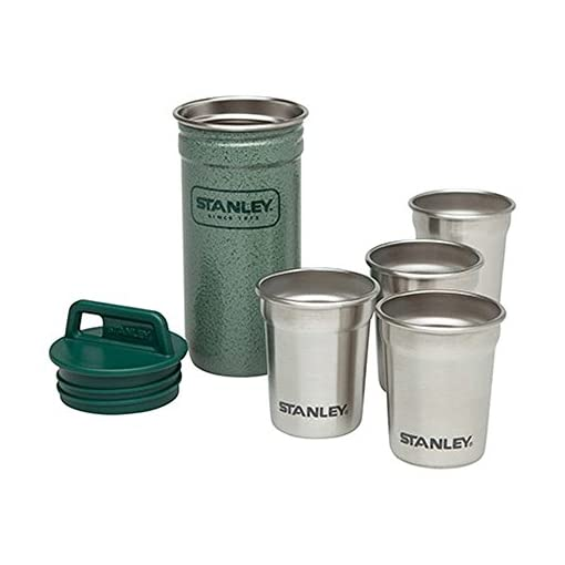 Stanley Steel 4-Piece Shot Glass Set