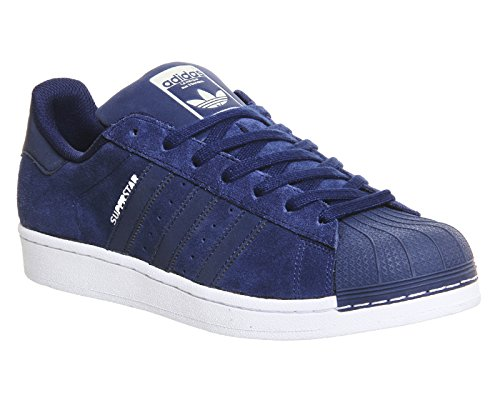 adidas Erwachsene Unisex II Superstar Sneakers Originals Blau BwUwq4n6x