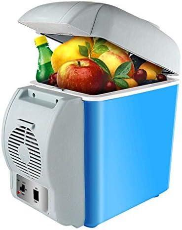 ZWH-ZWH 7.5L車ヒーターボックスヒーターカー冷蔵庫デュアルコアDC 12Vデュアルコアポータブルエアコン 車載用冷蔵庫