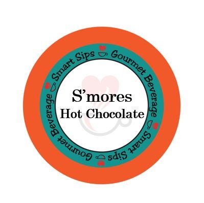Jamaican Hot Chocolate - S'mores Hot Chocolate, 24 Count, Single Serve Hot Cocoa Cups Compatible With All Keurig K-cup Brewers