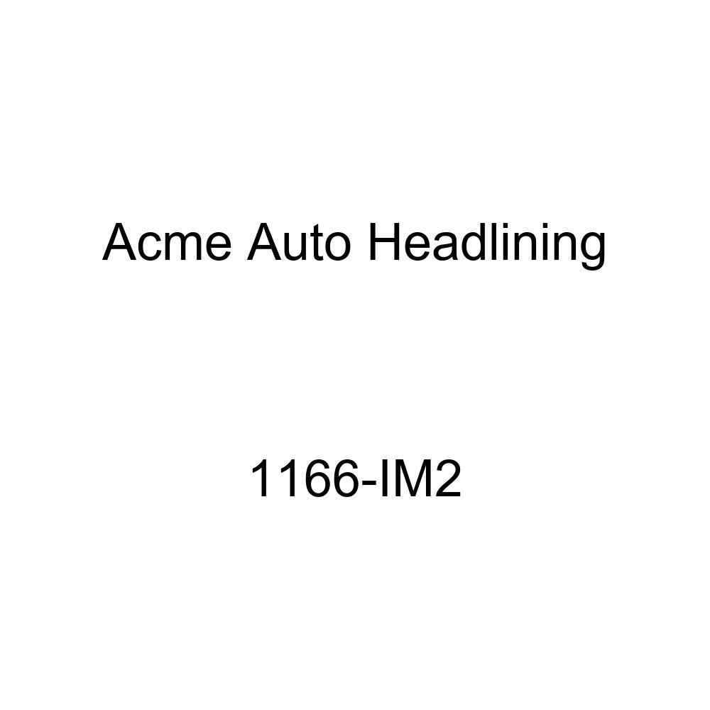 Acme Auto Headlining 1166-IM2 Tan Replacement Headliner 1956 Buick Super /& Cadillac Series 62 2 Door Hardtop 6 Bows