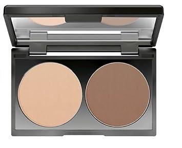 Makeup Factory Duo Contouring Powder No  07 Light Coffee Contents