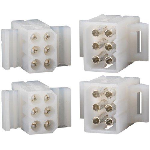410%2B8U6z30L amazon com molex 6 pin connector kit 0 093\
