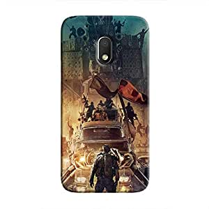 Cover It Up - Mad Max Vs Everybody Moto G4 Play Hard Case