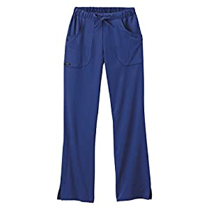 Classic Fit Collection by Jockey Women's Next Generation Elastic Drawstring Waist Scrub Pant Large New Navy