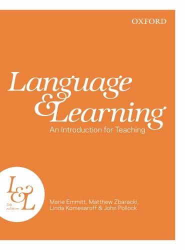 Language and Teaching: An Introduction for Teaching