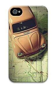 Beetle-2 Sakuraelieechyan Iphone 4/4S Hard Protective 3D Case