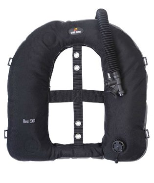 - Dive Rite Aircell Rec EXP Hybrid Donut-Style Wing Single or Double Tank for Scuba Diving