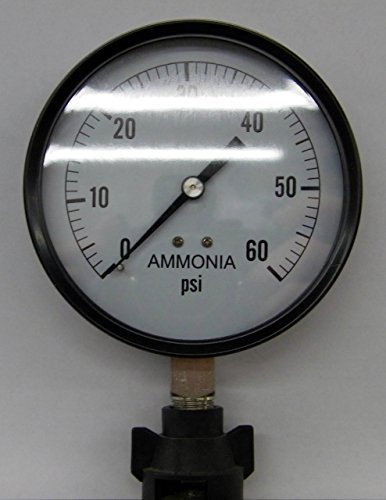 "Valley Industries 4"" Stainless Steel Anhydrous Ammonia Ga..."