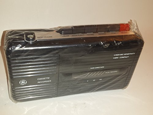 GE Compact Cassette Recorder 3 5301B