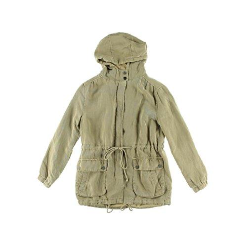 Sanctuary Clothing Women's Spring Tencel Linen Parka, Sandstone, Medium