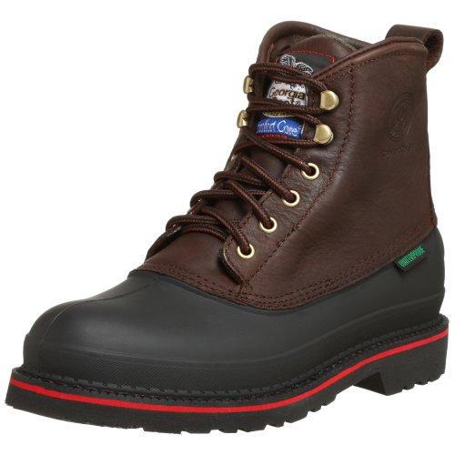 Georgia Boot Men's Muddog Waterproof Steel Toe Work Boot, Da