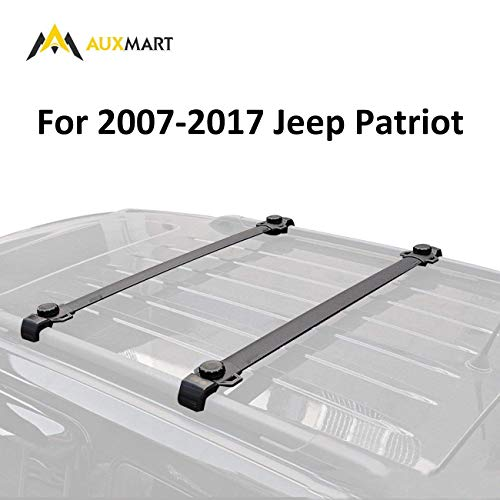 AUXMART Roof Rack Cross Bars for 2007-2017 Jeep Patriot