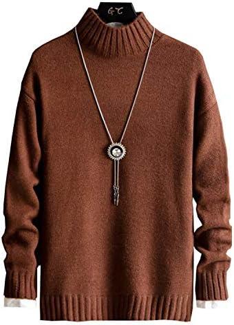 メンズ 長袖 秋 冬 新 ニット5色 おしゃれ カジュアルセーター 模様入り セーター しいスタイル 無地 トップス カットソー カラーマッチング ボーダー 暖かい 大きいサイズ 001