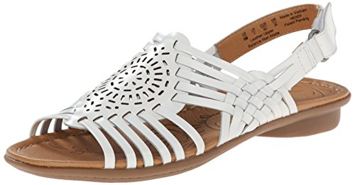 naturalizer white sandals - 3